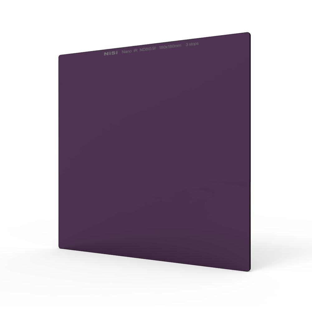 Nisi 180x180mm Nano IR Neutral Density Filter – ND8 (0.9) – 3 Stop