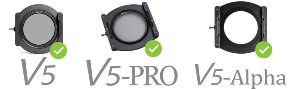 V5 Lens Cap Compatibility