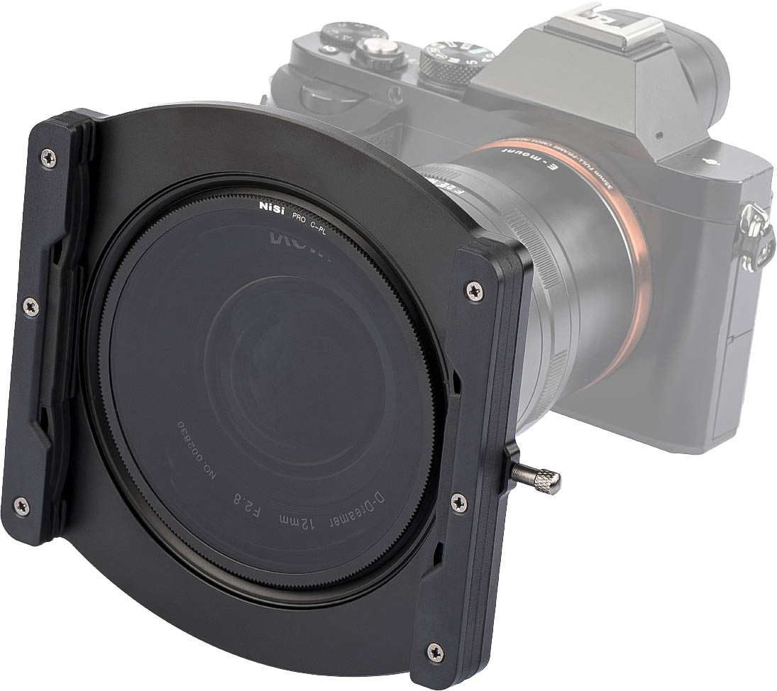 NiSi 100mm Filter Holder for Laowa 12mm f/2.8