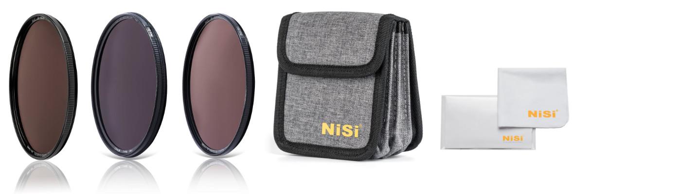 Circular Filter Kits Contents - ND Kit