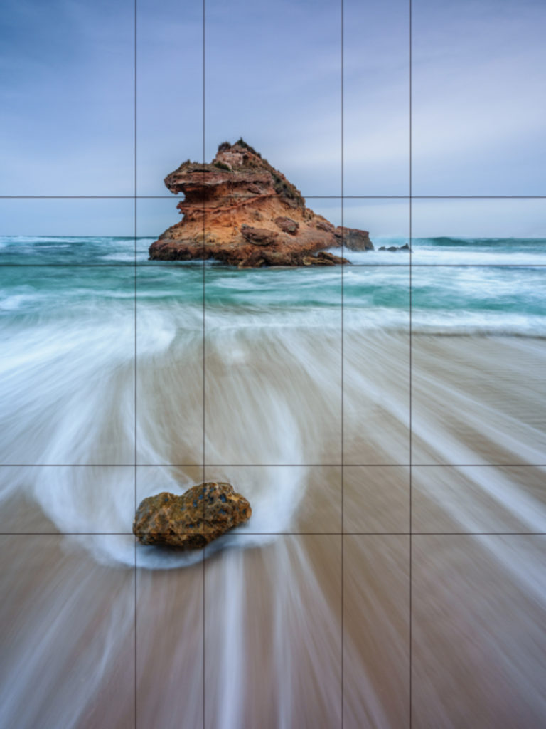 Landscape photography rule of thirds