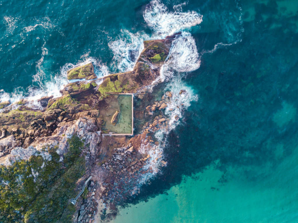 North Curl Curl DJI Drone images
