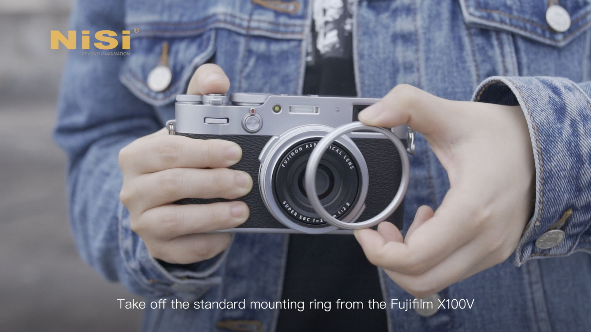 NiSi Filter System for Fujifilm X100