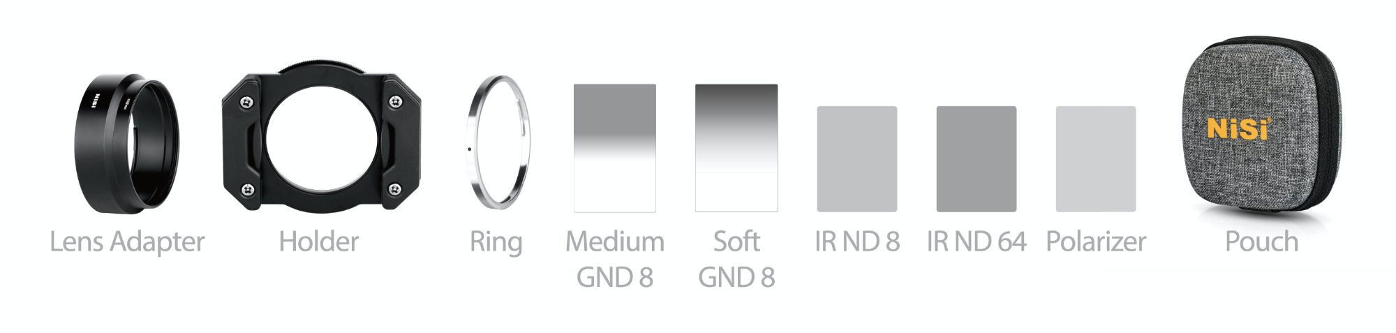 NiSi GR3 Mater Kit Contents