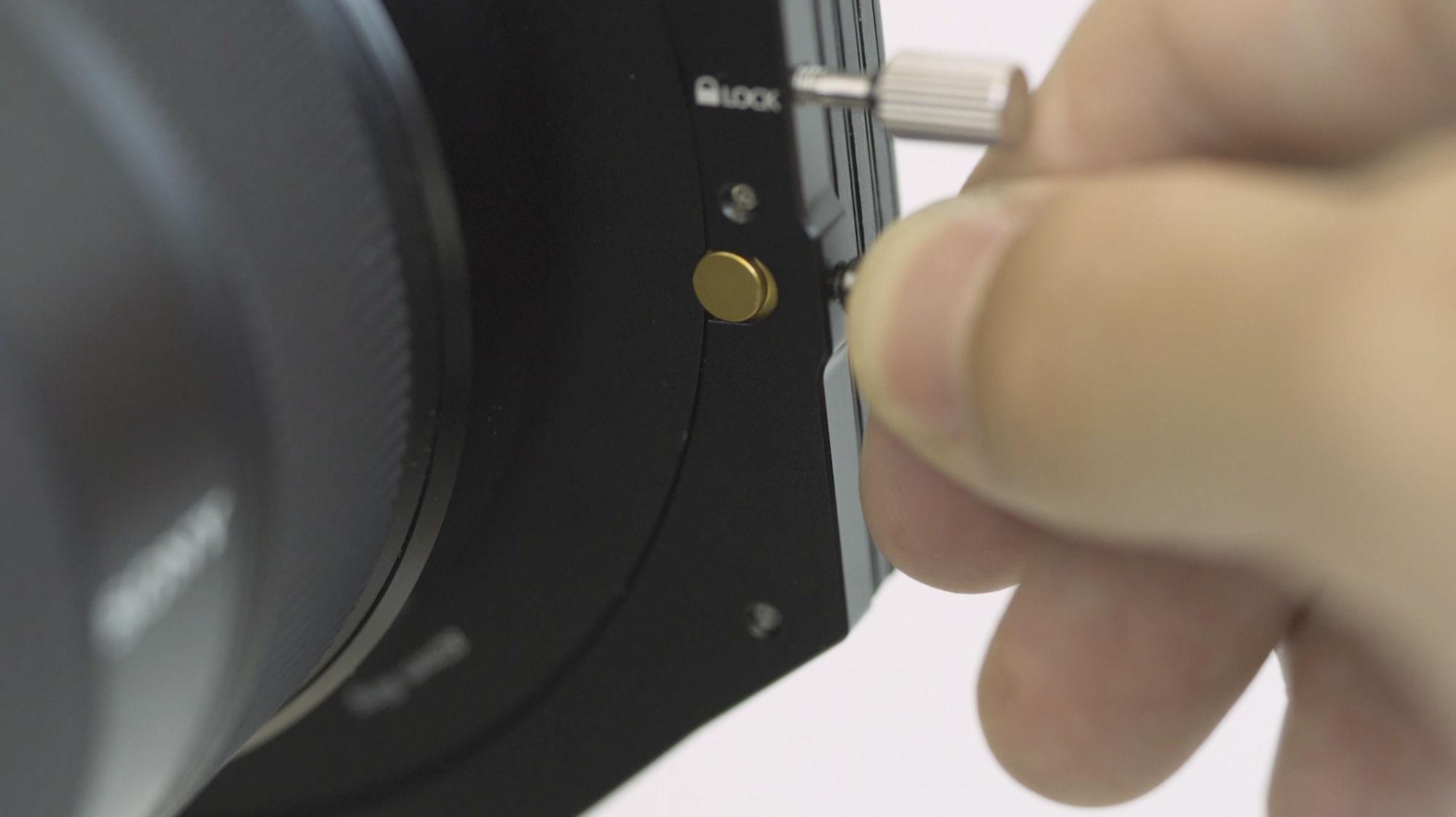 NiSi V6 ALPHA 100mm Aluminum Filter Holder Screen 3