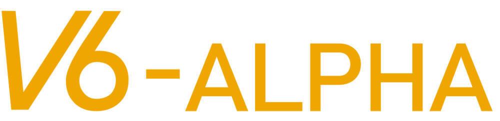 V6 ALPHA Logo