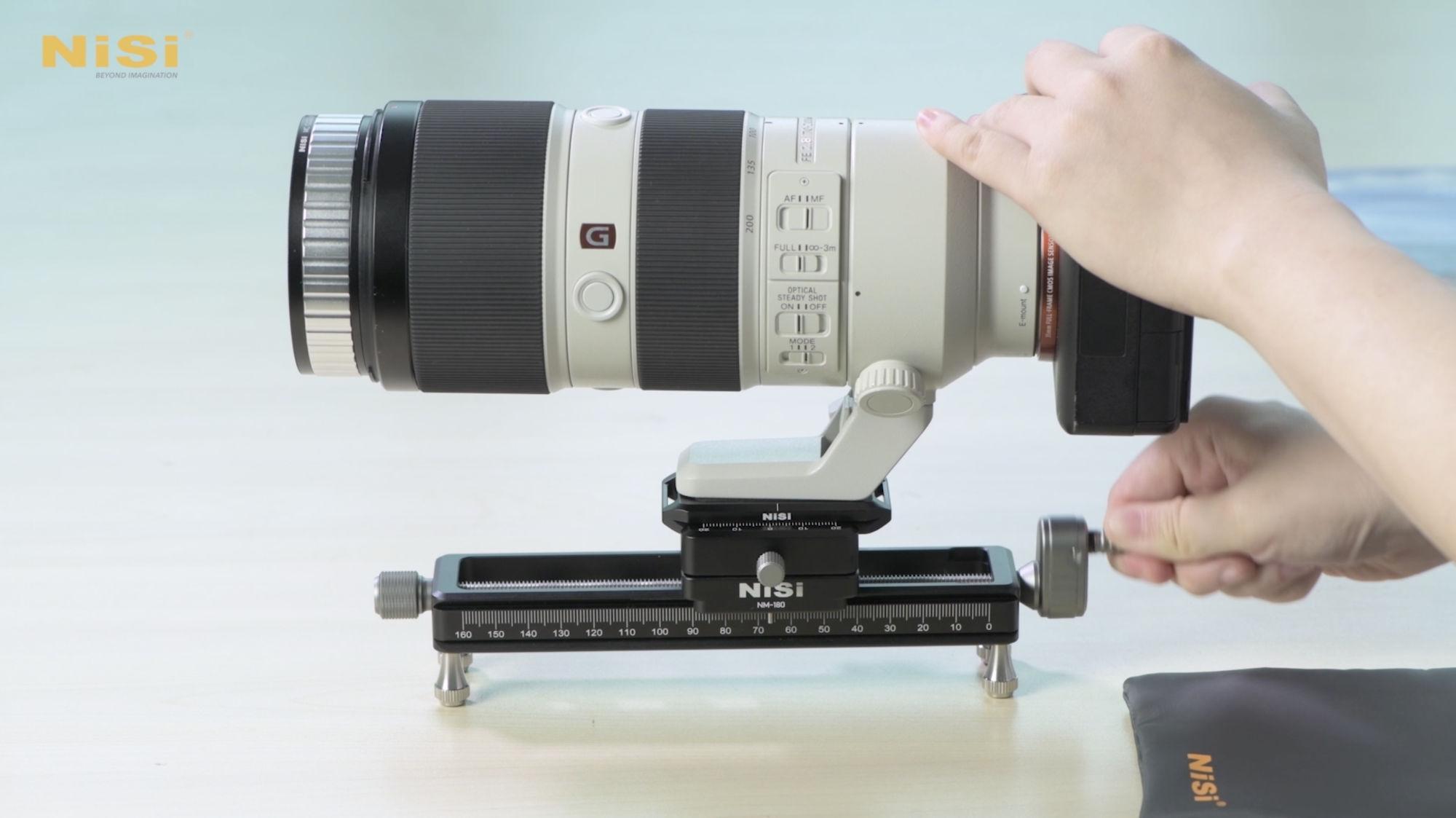 NiSi Macro Focusing Rail with Camera