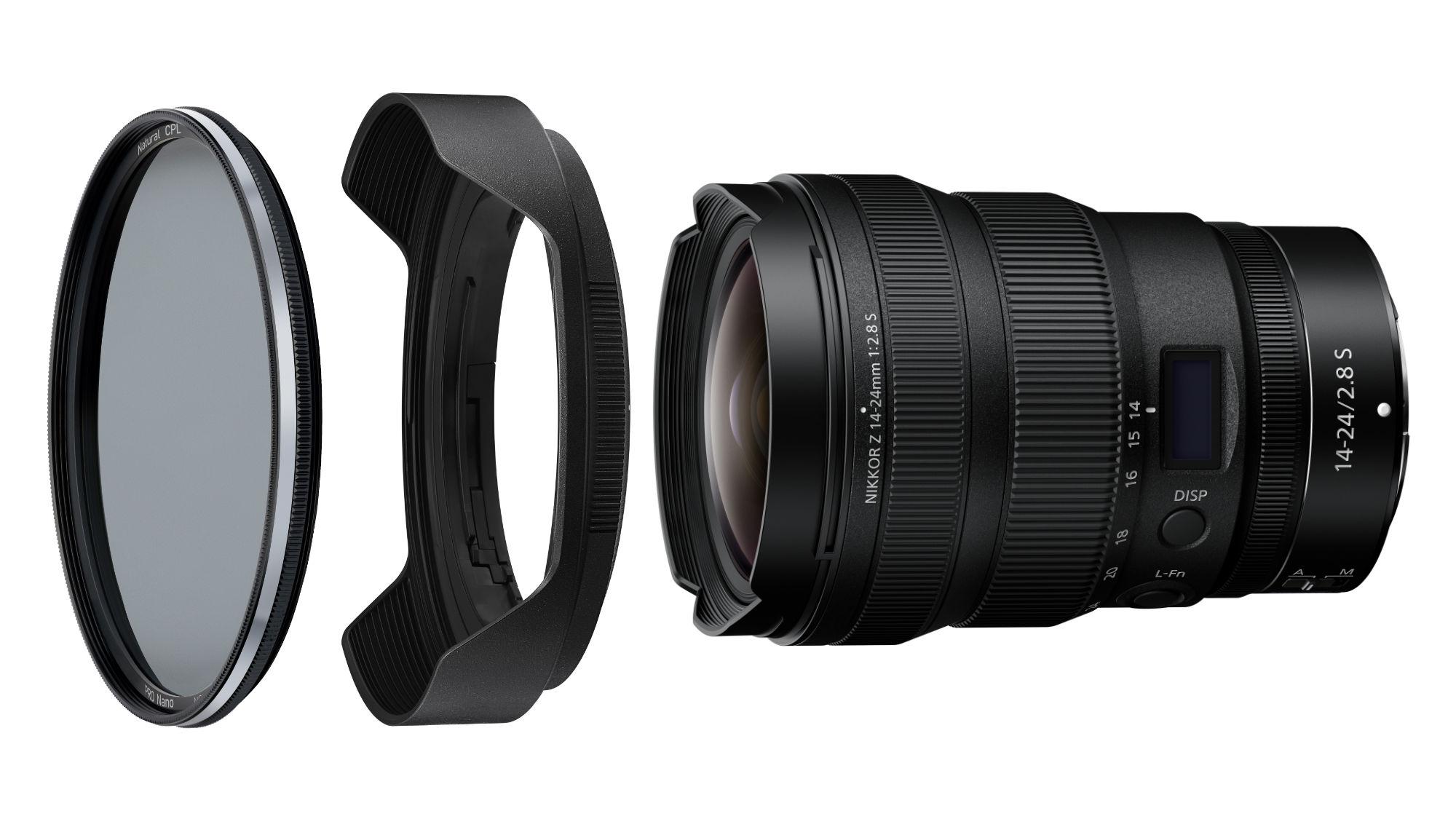 NiSi 112mm Circular Natural CPL Filter for Nikon Z 14-24mm f/2.8S