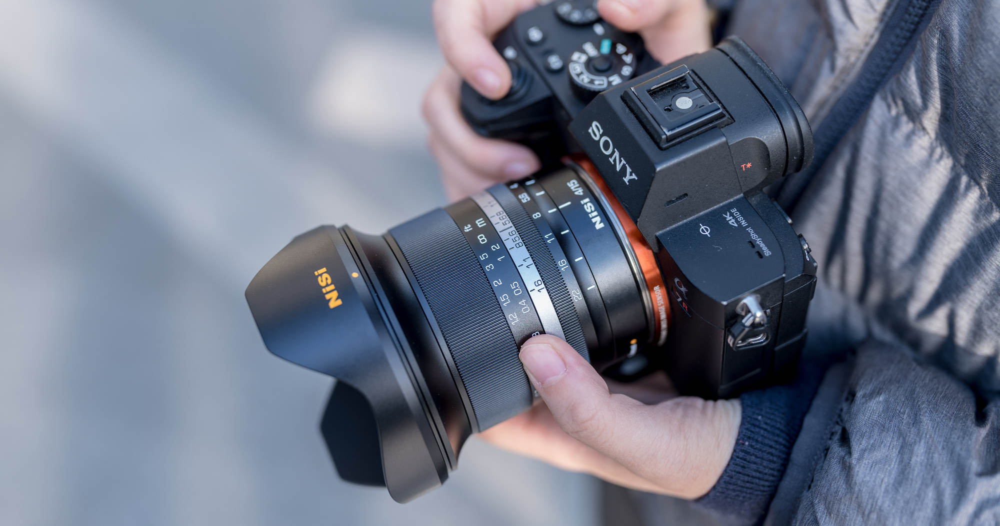Lens with sony