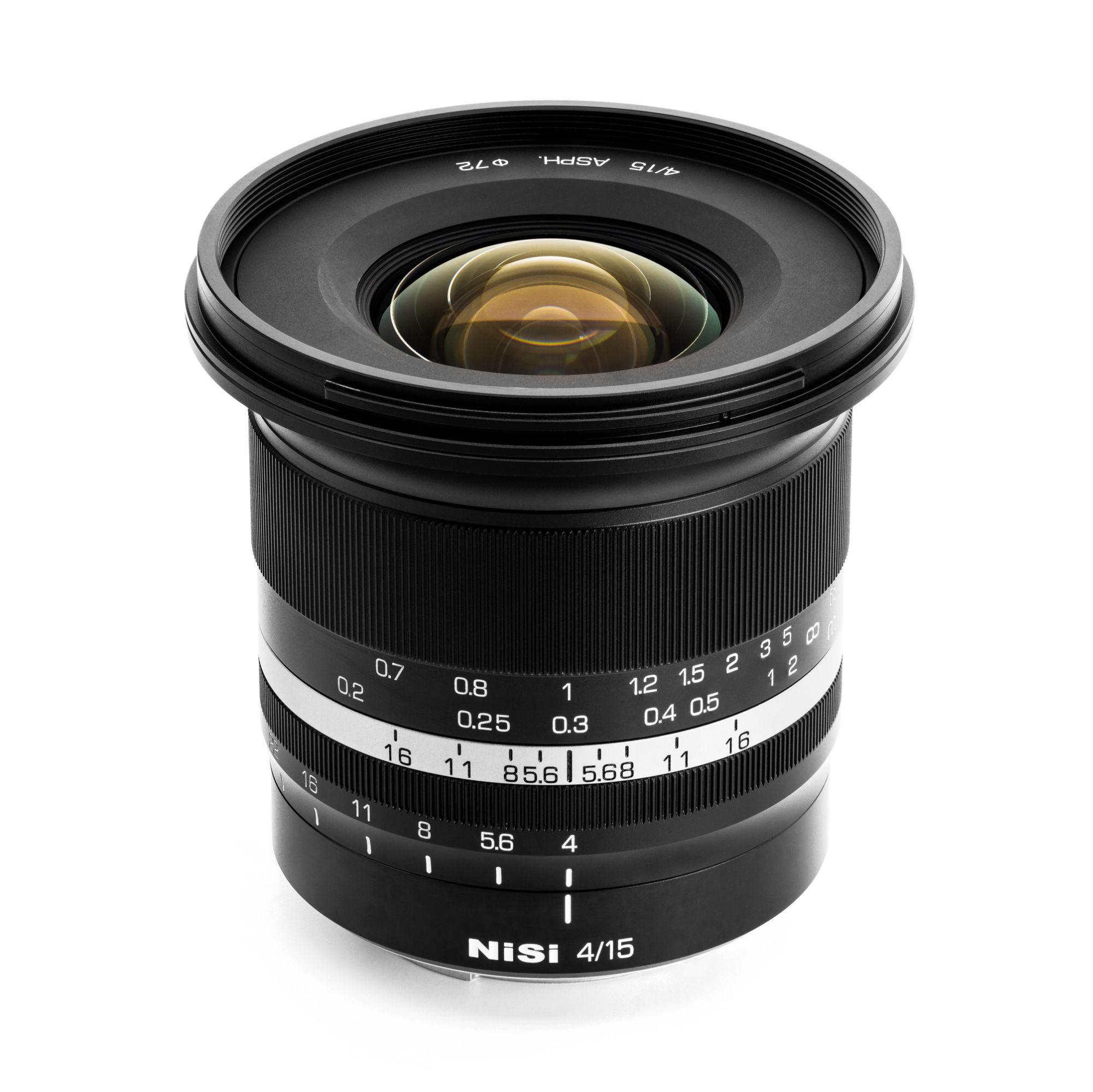 NiSi 15mm f/4 Sunstar Super Wide Angle Full Frame ASPH. Lens